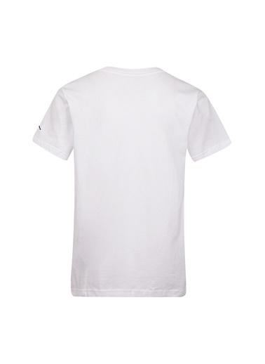 Nike Nike Baskılı Beyaz T-Shirt Beyaz